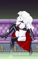 Lady Death Cover Coffin by MDiPascale