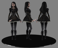 AliceNewSteampunk wip1 by tombraider4ever