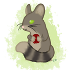Tanya as a Chinchilla by Polka-tac