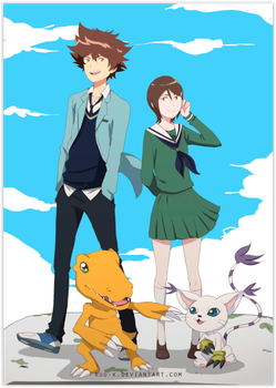 Digimon Tri by Ruu-k