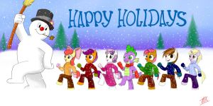 Happy Holidays :D by lordvader914