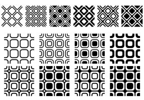 Rounded Squares Patterns AddOn by wuestenbrand