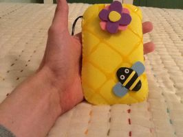 Bee Mobile Case by anapeig