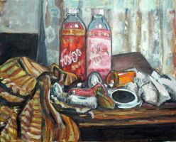 Still Life with Faygo by thecip