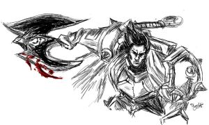Darius sketch by Momorii