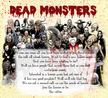 Monsters invite banner by RoseOfTheFlames
