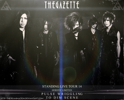 STANDING LIVE TOUR 14 PULSE WRIGGLING TO DIM SCENE by The-Reanimation