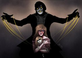 The Puppeteer and Sally by BleedingHeartworks
