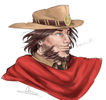 McCree by Cheribird