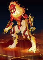 BD Elemental Lord of Fire by c-hsu-run