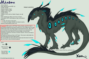 Miasma Reference '09 (OLD) by KazultheDragon