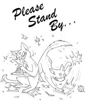 'Please Stand By' Banner by TenthCharm