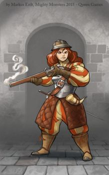Mighty Monster- Rifleman/woman by Vaejoun