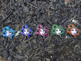 Great Fairy Masks, all colors! by meanlilkitty