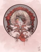 Blood Flowers by b-inky