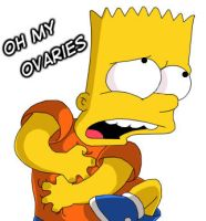 Ohh..My Ovaries -exclamation- by Simpsons-Addict