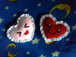Valentines Mini Cushions by collarander