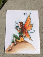 Fall Fairy Colored by flygirldavies