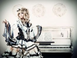 Hizaki cosplay Holy Grail by PlatinumEgoist