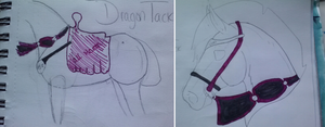 Stable Dragon Tack by Tuckerlyn