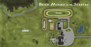 Map of Brier Mountain Stables by TamHorse