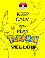 Keep calm and play yellow! by Blue-Fayt