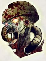 killzone zombi colo by easycheuvreuille