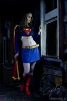 Moonlit Supergirl by Superchica