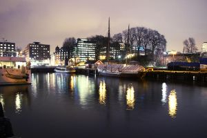 Oslo By Night by FridaFromTheFuture
