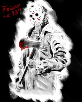 Jason Vorhees by KuroiGarnet