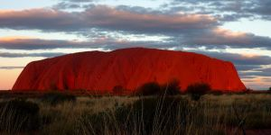 Uluru Sunset by BioHazardSystem