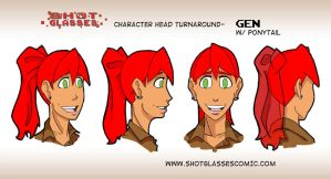 Head turnaround Gen pt2 by TheKad