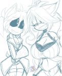 Techna and Moka Hanging Out by ToxicSoul77