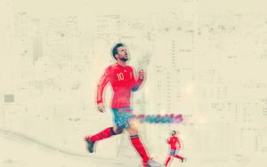 Cesc Fabregas - wallpaper by Ccrt