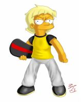Maggie Simpson, age 13 (2013) by simpspin
