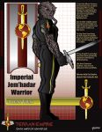 Imperial Jem'hadar Warrior by stourangeau