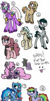 Those Next Gen Pone's by ColorfulWonders