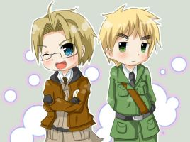 APH-America and England by mihiru-chan