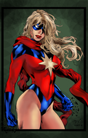 Benes Ms. Marvel by NimeshMorarji