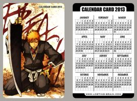 Bleach - calendar card 2013 by pandabaka