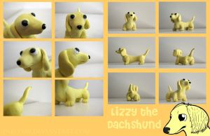 Lizzy the Dachshund by Ink--It