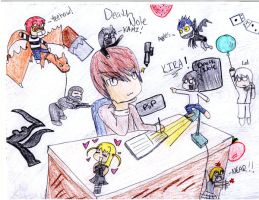 Death Note Chibis by Shaslo