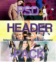 PSD HEADER PACK by ekinwinchester