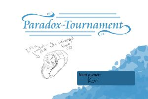 Paradox tournament item REMADE by rainhorse