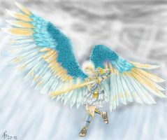 Archangel Michael by Knupfel
