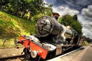 Summer Steam HDR by nat1874