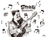 Sonny Sharrock Commission by Papposilenos