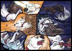 Bolt, Dog Fight deleted Scene. Pg 4 of 6. by wolfmarian