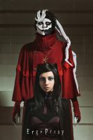 Re-l Mayer and Ergo Proxy by Mirum-Numenis