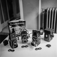 Rollei Camera Arsenal by jonniedee